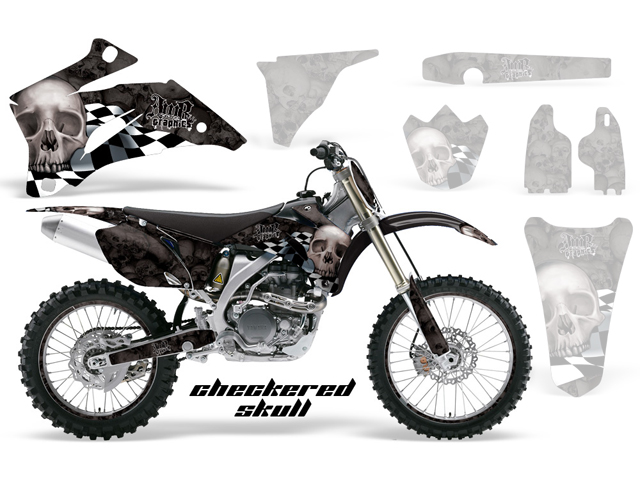 WR450F (03-04) AMRデカール シュラウドキット