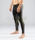 【NEW】ロングパンツv3 コンプレッション(SiO16) VIRUS メンズ Stay Warm 暖速乾 ブラックグレー