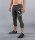 ブーツカット(7分丈)パンツ コンプレッション(SiO6) VIRUS メンズ Stay Warm 暖速乾 グレー