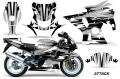 Suzuki GSX-R 1000 Sport Bike Graphic Kit (01-02) AMRデカール コンプリートキットSPORTSBIKE