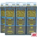 ストロングコーヒー無糖6本セット