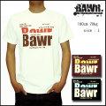 "【BAWR】2014半袖 Tシャツ""Bawr""【bw1371】 【M/L/XL/XXL】 3L"