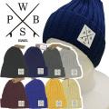 ニット帽【メール便送料無料】8カラー/ Xクロス(kn03) 綿100% ワッチキャップ 帽子/CAP【メンズ】 アメカジ・きれい目・ストリート