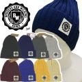 ニット帽【メール便送料無料】8カラー/ BWカレッジ(kn05) 綿100% ワッチキャップ 帽子/CAP【メンズ】 アメカジ・きれい目・ストリート