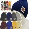 ニット帽【メール便送料無料】8カラー/ SK8 (kn08) 綿100% ワッチキャップ 帽子/CAP スケボー【メンズ】 アメカジ・きれい目・ストリート