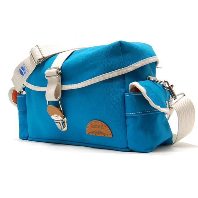 MOUTH マウス 日本製 ショルダーバッグ Delicious Tackle Bag デリシャス タックルバッグ MJS14035-SORA [レッド/レトロ/おしゃれ/かわいい/兼用]