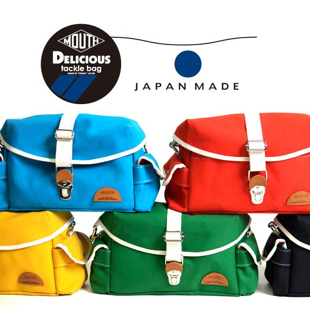 MOUTH日本製カメラバッグミラーレス女子おしゃれカメラバックボディバッグレンズ2本DeliciousTackleBagデリシャスタックルバッグMJS14035