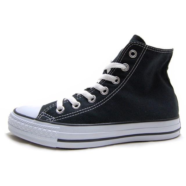 CONVERSE コンバース メンズ レディース スニーカー CANVAS ALL STAR HI キャンバス オールスターHI BLACK ブラック [ハイカット/女子/かわいい/定番/国内正規販売店/Authorized Dealer]