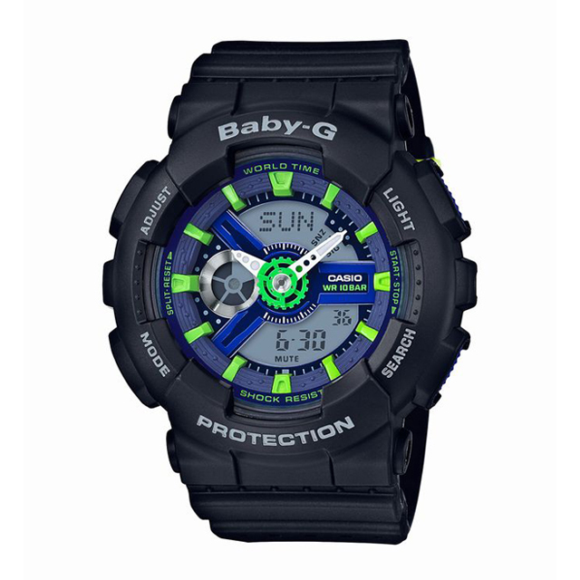 Baby-G ベビージー ベビーG CASIO カシオ レディース 腕時計 Punching Pattern Series パンチング・パターン・シリーズ BA-110PP-1AJF [10気圧防水/アナログ/スポーティ]