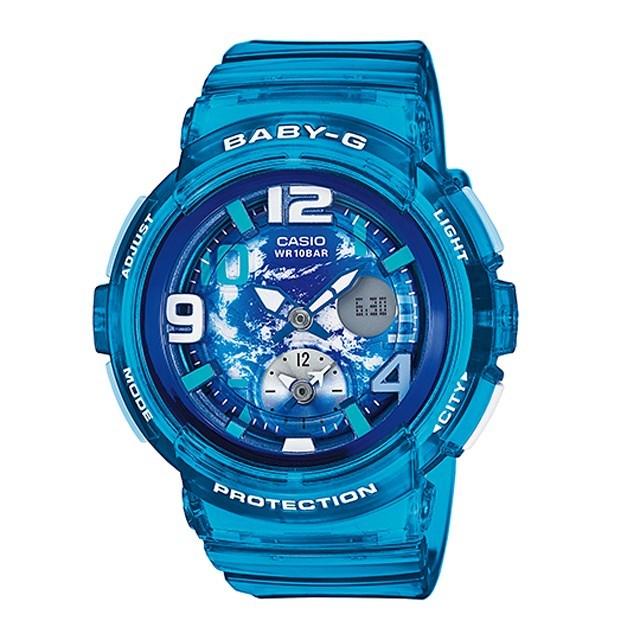 Baby-G ベビージー レディース 腕時計 ベビーG CASIO カシオ Beach Traveler Series ビーチ・トラベラー・シリーズ BGA-190GL-2BJF [国内正規販売店]