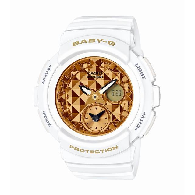 Baby-G ベビージー ベビーG CASIO カシオ レディース 腕時計 Studs Dial Series スタッズ・ダイアル・シリーズ BGA-195M-7AJF [10気圧防水/アナログ/スタッズ/ワールドタイム]