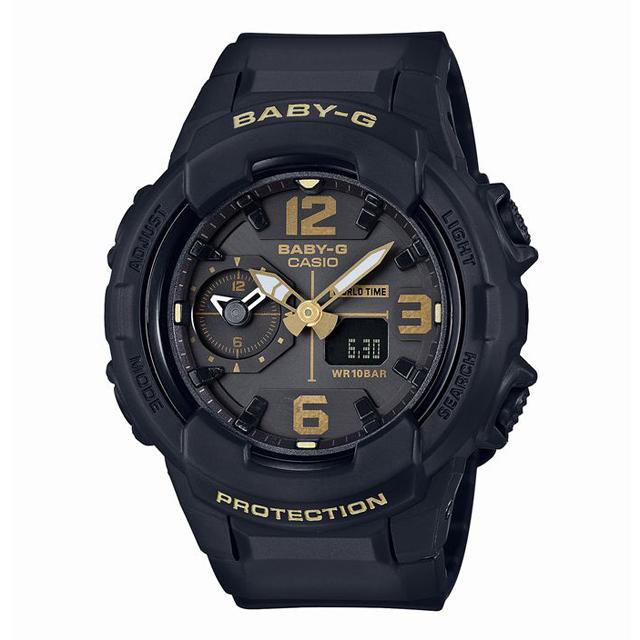 Baby-G ベビージー ベビーG CASIO カシオ レディース 腕時計 BGA-230-1BJF [10気圧防水/ワールドタイム/アナログ/国内正規販売店/Authorized Dealer]