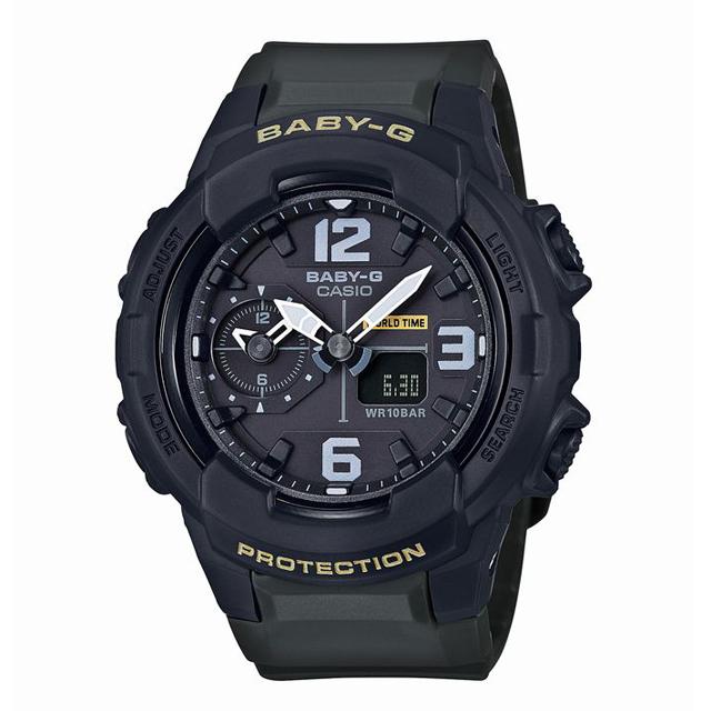 Baby-G ベビージー ベビーG CASIO カシオ レディース 腕時計 BGA-230-3BJF [10気圧防水/ワールドタイム/アナログ/国内正規販売店/Authorized Dealer]