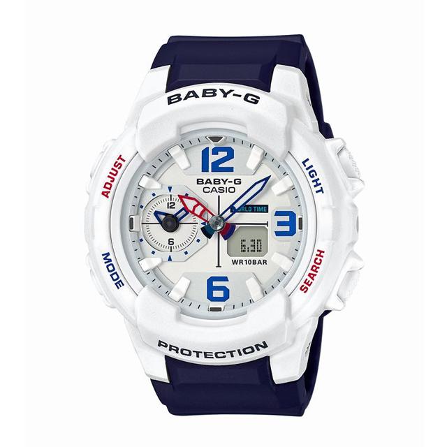 Baby-G ベビージー ベビーG CASIO カシオ レディース 腕時計 BGA-230SC-7BJF [10気圧防水/アナログ/ワールドタイム/トラベル/ミリタリー]