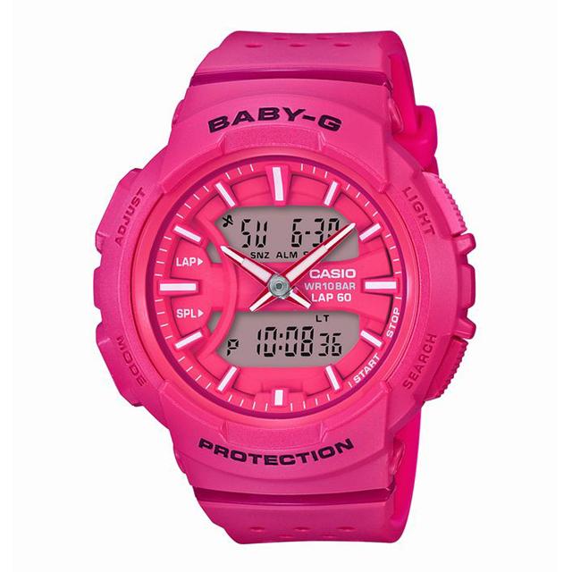 Baby-G ベビージー CASIO カシオ レディース 腕時計 for running フォーランニング BGA-240-4AJF [10気圧防水/アナログ/ランニング/スポーツ]