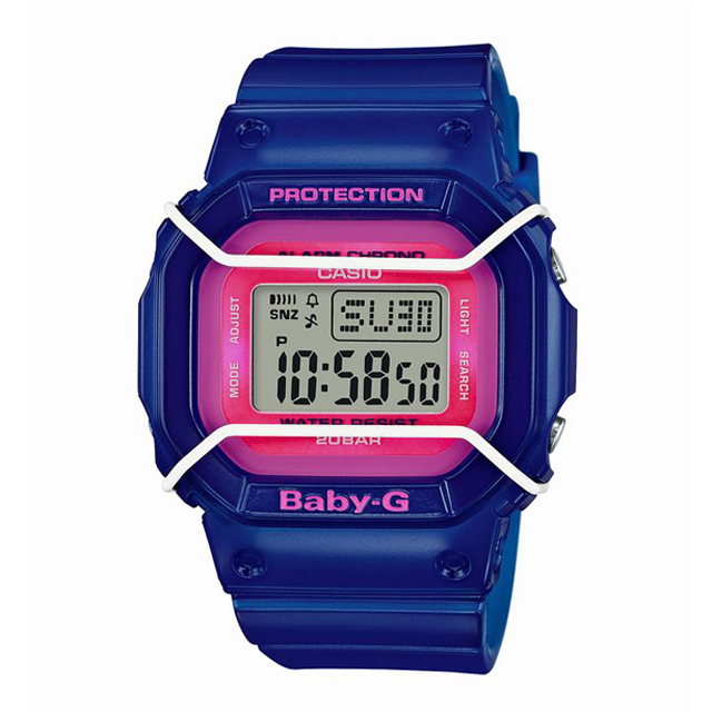Baby-G ベビージー ベビーG CASIO カシオ レディース 腕時計 BGD-501FS-2JF [20気圧防水/デジタル/ワールドタイム/国内正規販売店/Authorized Dealer]