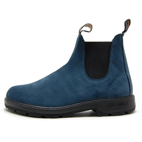 Blundstone ブランドストーン メンズ レディース ブーツ BLUESTEEL ブルースチール BS1457-589 [サイドゴア/スエード/ワークブーツ/国内正規販売店/Authorized Dealer]