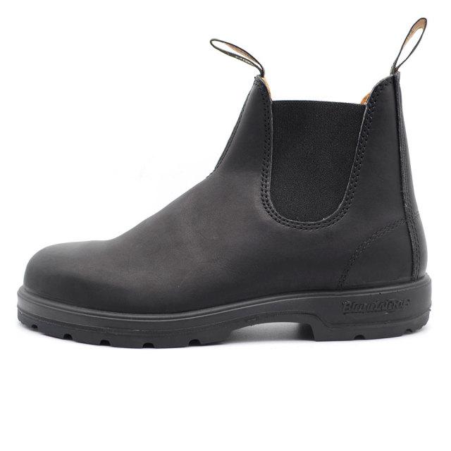 Blundstone ブランドストーン メンズ レディース ブーツ VOLTAN BLACK ボルタンブラック BS558-089 [カジカジ掲載/サイドゴア/レザー/レインブーツ/ワークブーツ/国内正規販売店/Authorized Dealer]