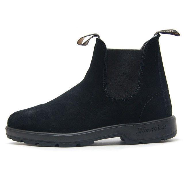 Blundstone ブランドストーン メンズ レディース ブーツ BLACK ブラック BS1455009 [サイドゴア/スエード/ワークブーツ/黒/アウトドア/タウンユース/ユニセックス/国内正規販売店/Authorized Dealer]