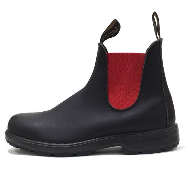 Blundstone ブランドストーン メンズ レディース ブーツ VOLTAN BLACK/RED ボルタンブラック/レッド BS508888 [サイドゴア/レザー/ワークブーツ/黒/ユニセックス/アウトドア/タウンユース/国内正規販売店/Authorized Dealer]