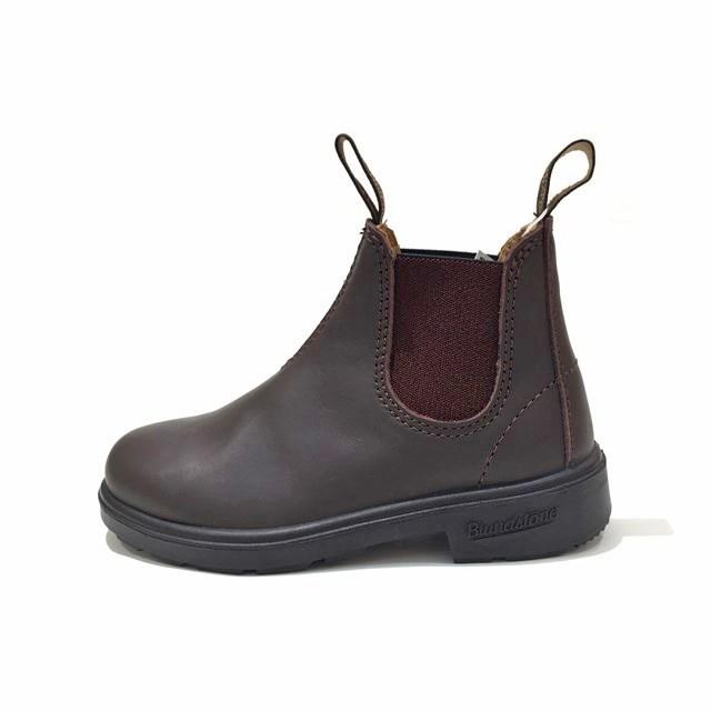 Blundstone ブランドストーン キッズ ブーツ BROWN ブラウン BS530200 [ジュニア/子供靴/サイドゴア/レザー/茶/アウトドア/タウンユース/男の子/女の子/国内正規販売店/Authorized Dealer]