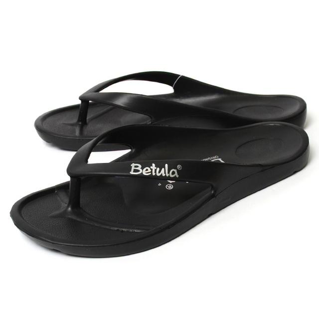 Betula ベチュラ メンズ レディース サンダル エナジー ブラック BL083751 [ビーチ/軽量/旅行/トング]