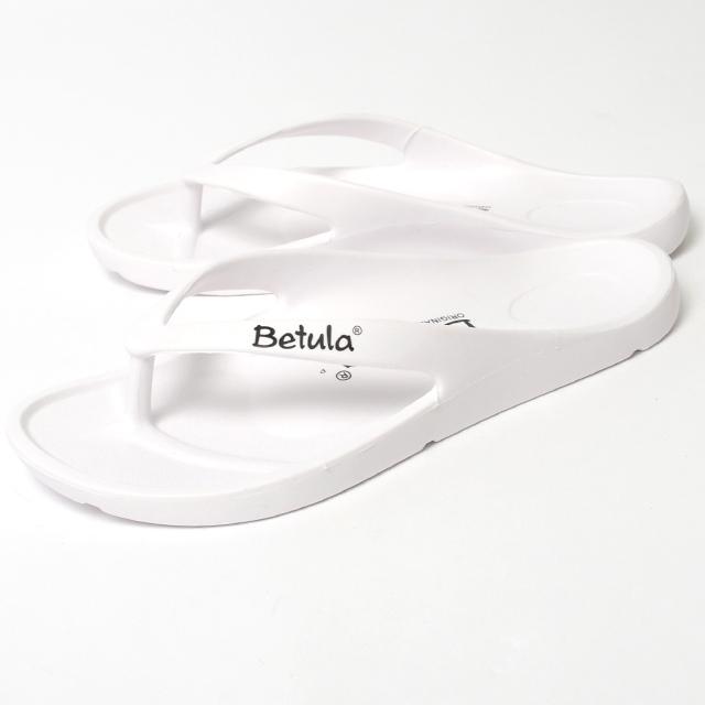 Betula ベチュラ メンズ レディース サンダル エナジー ホワイト BL083821[ビーチ/軽量/旅行/トング]