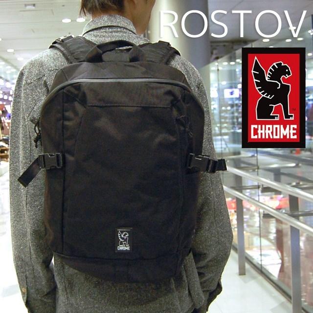 CHROMEクロームメンズバッグROSTOVロストフBlack/BlackBG187BKBKNANAバックパック/ブラック/国内正規販売店