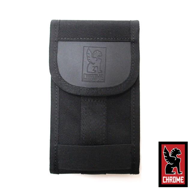 CHROME クローム メンズ バッグ PHONE POUCH フォン ポーチ Black/Black AC135BKBK [ブラック/スマートフォン/ケース/iPhone7対応]