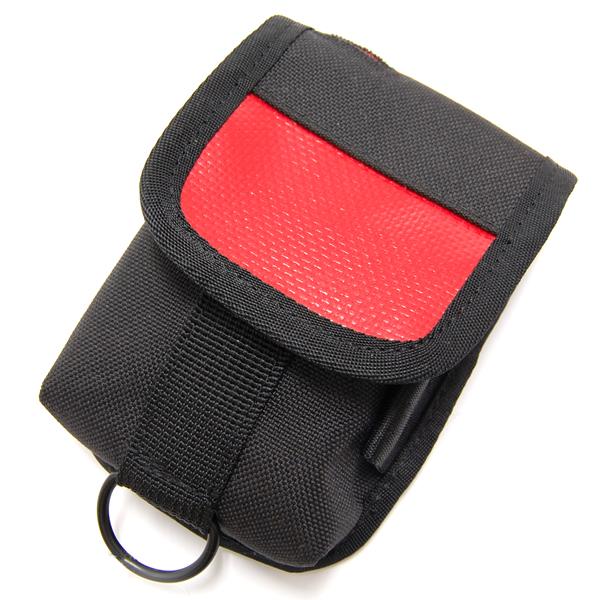 CHROME クローム メッセンジャーバッグ アクセサリーポーチ モバイルケース Black/Red ブラック/レッド AC109BKRDNANA  [自転車/バイク/メッセンジャー/ピスト]