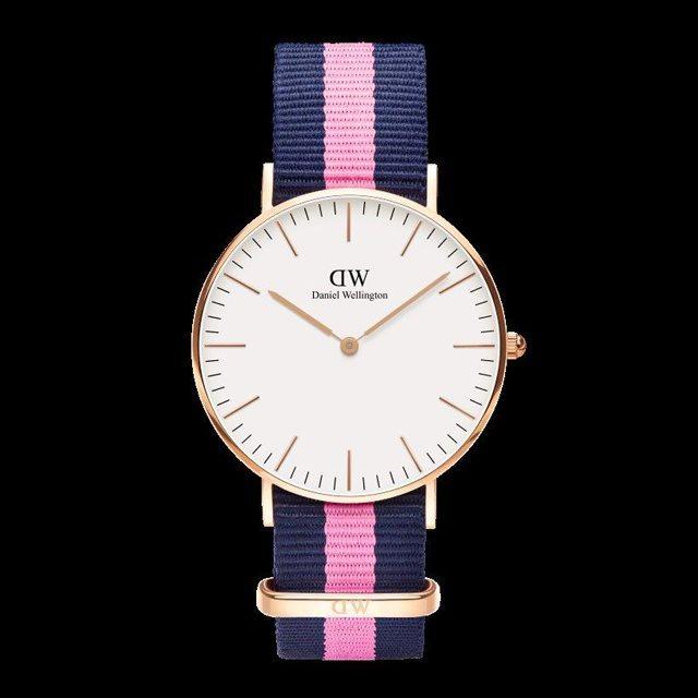 Daniel Wellington ダニエル ウェリントン メンズ レディース 36mm 腕時計 Classic Winchester Rose gold ローズゴールド DW00100033 [NATOストラップ/国内正規販売店/Authorized Dealer]