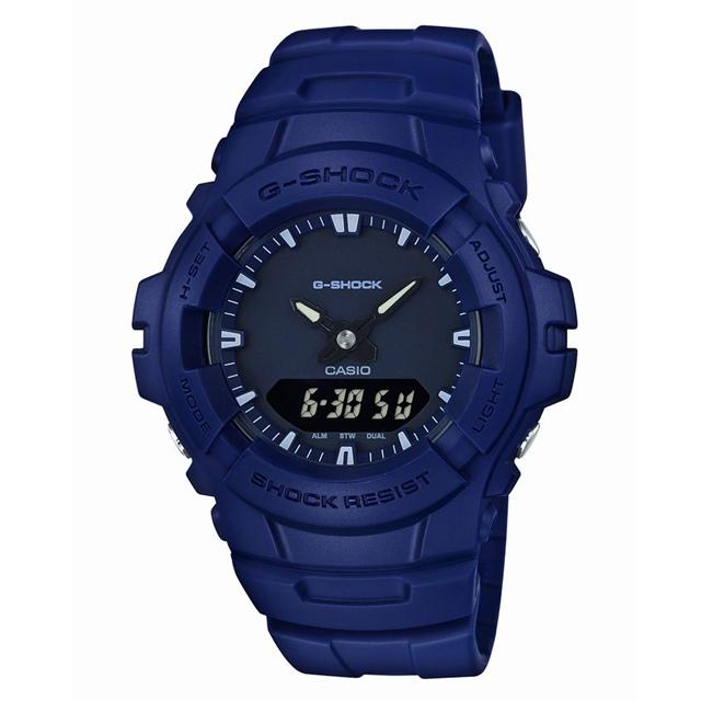 G-SHOCK ジーショック CASIO カシオ メンズ 腕時計  G-100CU-2AJF [20気圧防水/アナログ/ミリタリー]