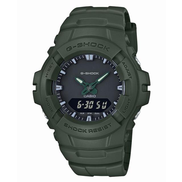 G-SHOCK ジーショック CASIO カシオ メンズ 腕時計  G-100CU-3AJF [20気圧防水/アナログ/ミリタリー]