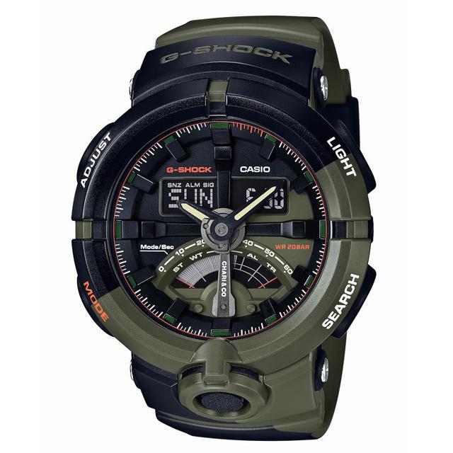 G-SHOCK ジーショック CASIO カシオ メンズ 腕時計 CHARI&CO チャリアンドコー GA-500K-3AJR [20気圧防水/CHARI&CO/チャリアンドコー/コラボ/アナログ/限定]