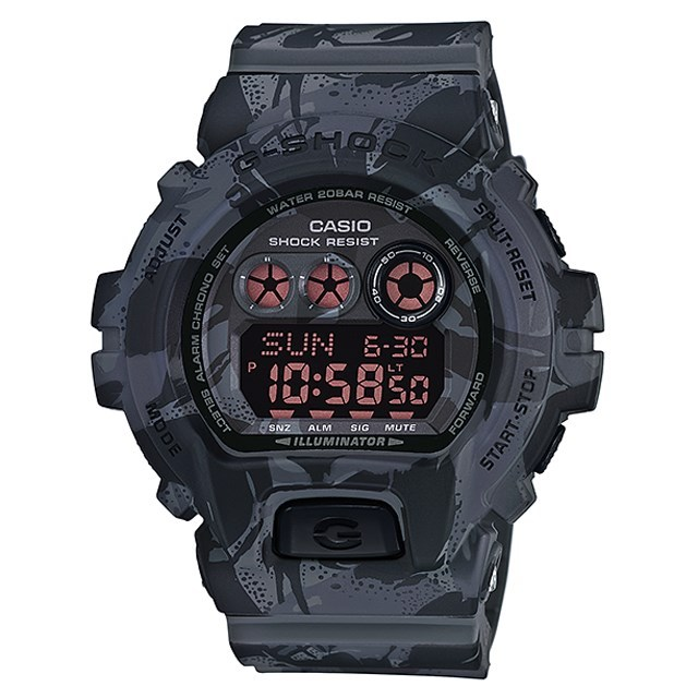 G-SHOCK ジーショック CASIO カシオ メンズ 腕時計 Camouflage Series カモフラージュシリーズ GD-X6900MC-1JR [国内正規販売店]