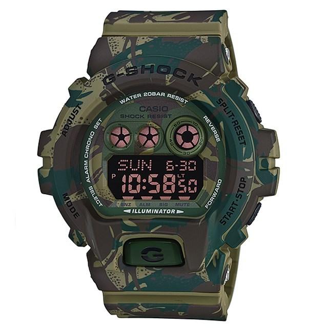 G-SHOCK ジーショック CASIO カシオ メンズ 腕時計 Camouflage Series カモフラージュシリーズ GD-X6900MC-3JR [国内正規販売店]