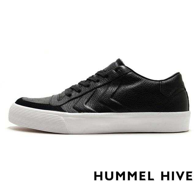 HUMMEL HIVE ヒュンメルハイブ メンズ レディース スニーカー STADIL RMX LOW スタディール RMX ロー BLACK HM64233-2001 [限定モデル/LIMITED/リミテッドモデル/国内正規販売店/Authorized Dealer]