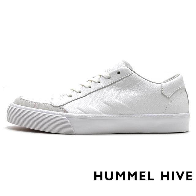 HUMMEL HIVE ヒュンメルハイブ メンズ レディース スニーカー STADIL RMX LOW スタディール RMX ロー WHITE HM64233-9001 [限定モデル/LIMITED/リミテッドモデル/国内正規販売店/Authorized Dealer]