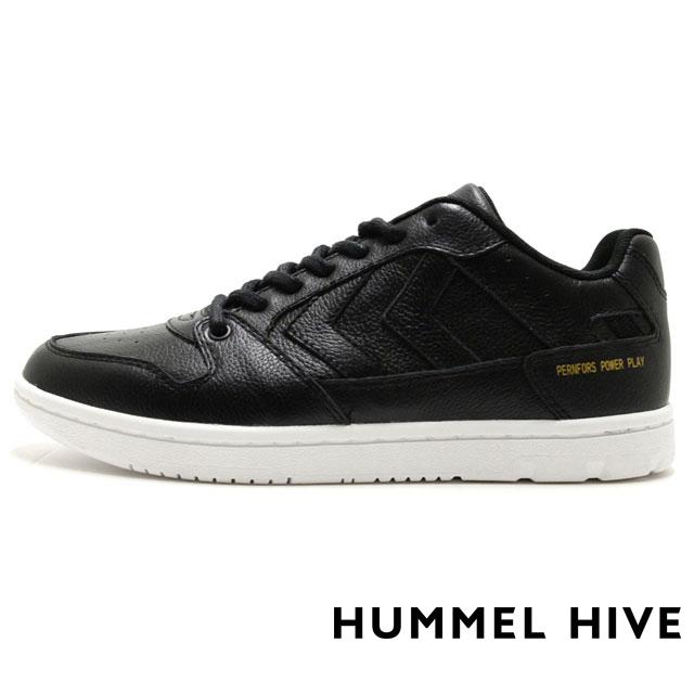 HUMMEL HIVE ヒュンメルハイブ メンズ レディース スニーカー PERNFORS パンフォース BLACK HM64439-2001 [限定モデル/LIMITED/リミテッドモデル/国内正規販売店/Authorized Dealer]