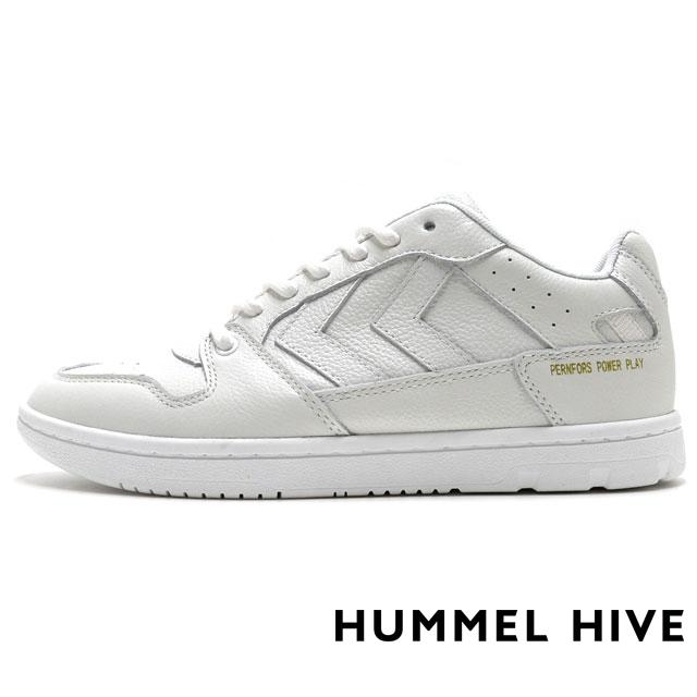 HUMMEL HIVE ヒュンメルハイブ メンズ レディース スニーカー PERNFORS パンフォース WHITE HM64439-9001 [限定モデル/LIMITED/リミテッドモデル/国内正規販売店/Authorized Dealer]