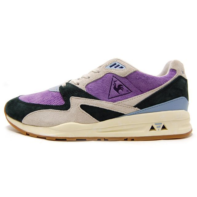 le coq sportif ルコックスポルティフ メンズ スニーカー LCS R 800 RETRO AFFICHES PURPLE HEART パープル 1710284 [世界限定/取扱店舗限定/LIMITED EDITION/スポーティー/ランニング/レトロ/国内正規販売店/Authorized Dealer]