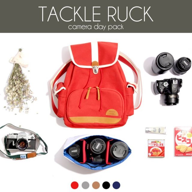 MOUTH カメラリュック インナーケース セット Delicious Tackle Ruck デリシャス タックルリュック MJB16055 MJC12024 [帆布/日本製/MadeinJAPAN/カメラ女子/男女兼用/バックパック/リュック/デイパック/国内正規販売店/Authorized Dealer]