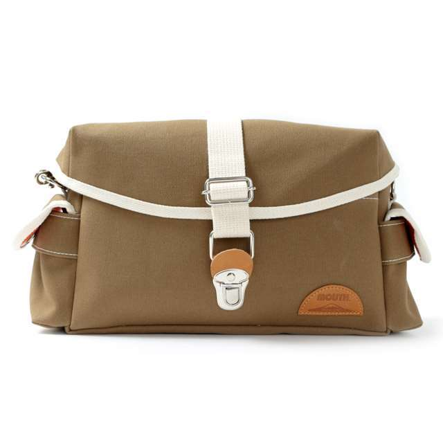 MOUTH カメラバッグ Delicious Tackle Bag デリシャス タックルバッグ MJS14035-LBROWN