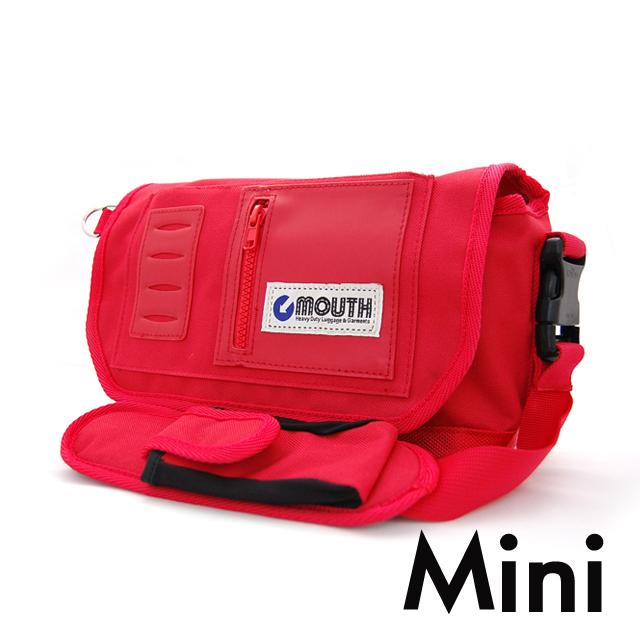 MOUTH マウス ミニ カメラバッグ インナーケースセット マウス Tiny BUCKET MOUTH タイニーバケットマウス RED レッド  MSB14036 [ミラーレス/一眼/女子/ショルダー]