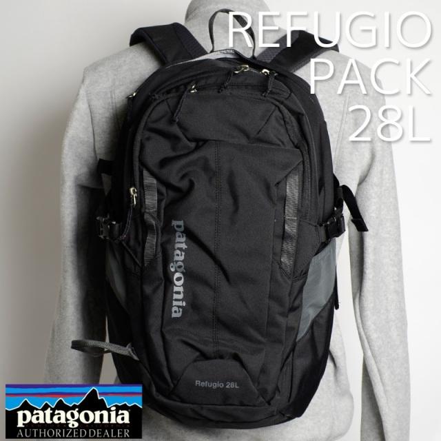 Patagonia パタゴニア バッグ バックパック リュック REFUGIO PACK 28L Black ブラック 47911-BLK [アウトドア/旅行/デイパック/国内正規販売店]
