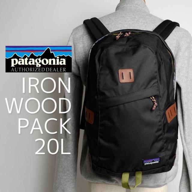 Patagonia パタゴニア バッグ バックパック リュック IRONWOOD PACK 20L Rockwall 48020-RKL  [チャコールグレー/アウトドア/旅行/デイパック/国内正規販売店]