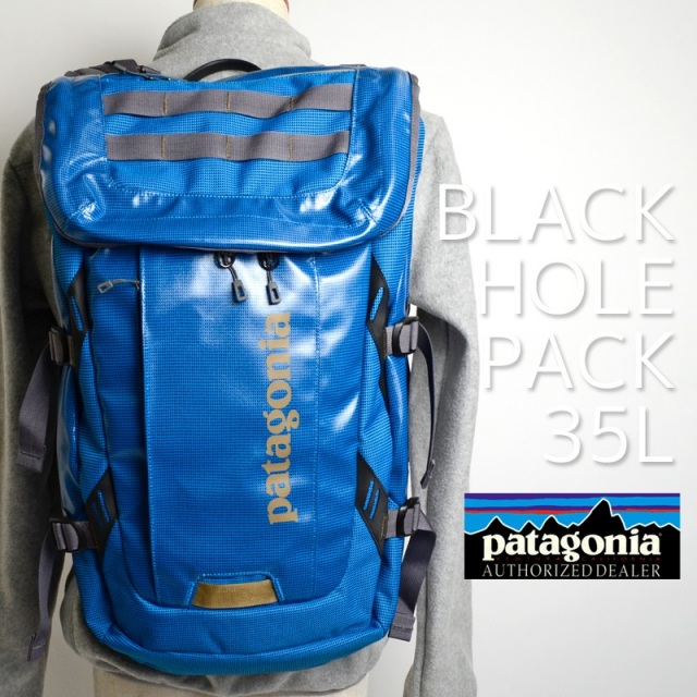 Patagonia パタゴニア バッグ バックパック リュック BLACK HOLE PACK 35L Andes Blue ブルー 49330-ANDB  [アウトドア/旅行/デイパック/国内正規販売店]