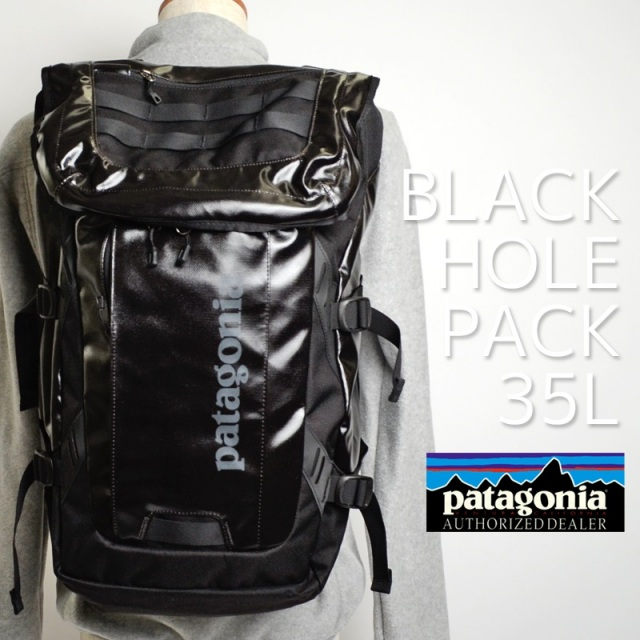 Patagonia パタゴニア バッグ バックパック リュック BLACK HOLE PACK 35L Black ブラック 49330-BLK  [アウトドア/旅行/デイパック/国内正規販売店]