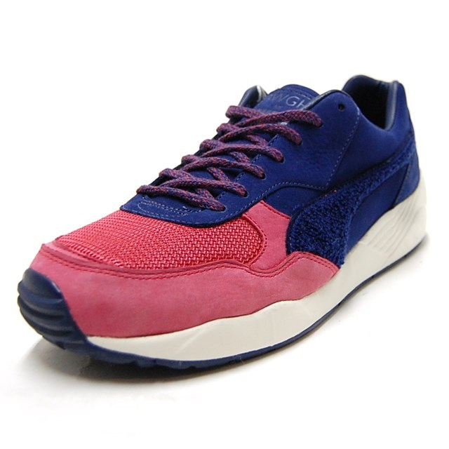 PUMA プーマ メンズ スニーカー XS-698 X BWGH patriont blue 357033-02 [Brooklyn We Go Hard/コラボ]