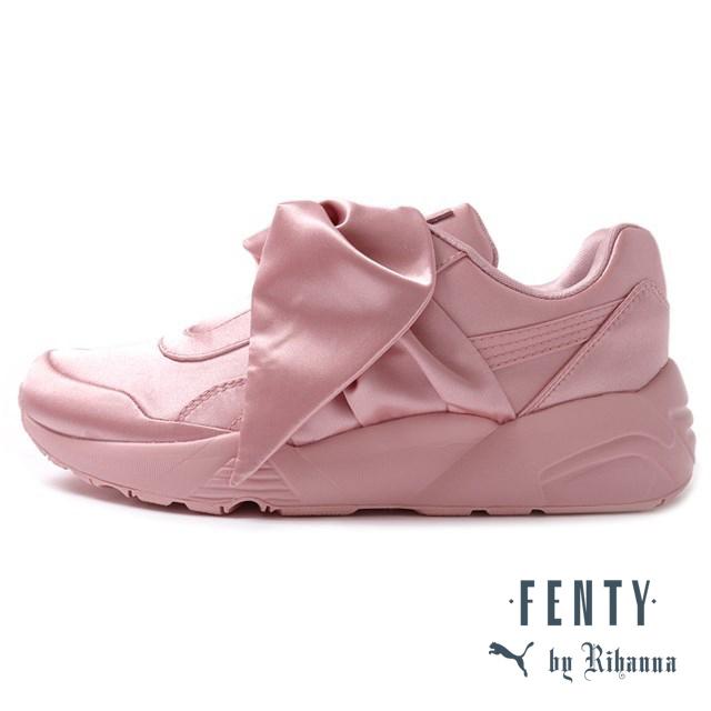 PUMA プーマ レディース スニーカー PUMA FENTY BY RIHANNA BOW SNEAKER WOMENS Silver Pink/Pink/Silver Pink ピンク 365054-01 [取扱店舗限定/LIMITED EDITION/Rihanna/リアーナ/コラボ]【キャンセル、変更・返品交換、ラッピング不可】